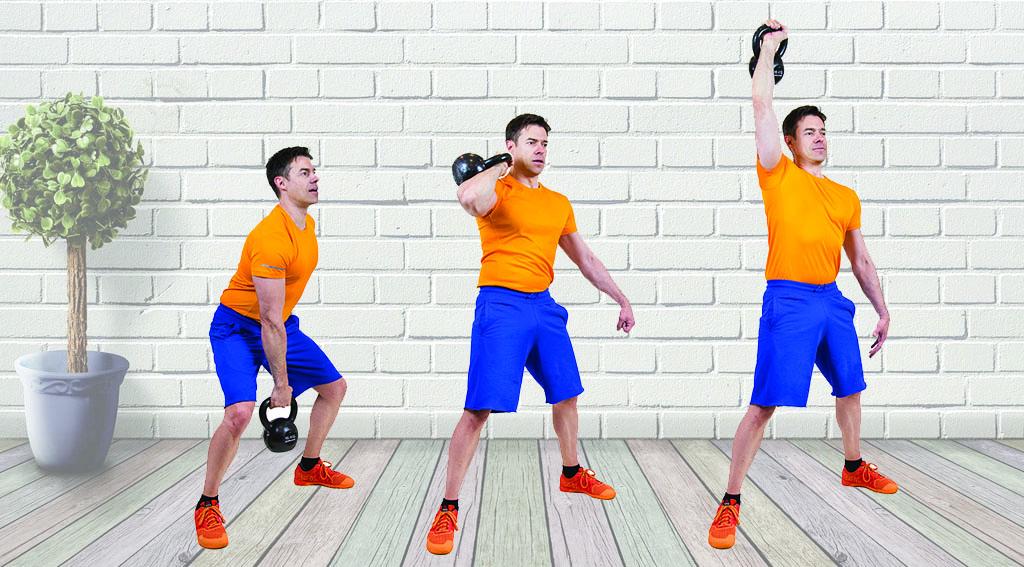 ejercicios básicos kettlebell